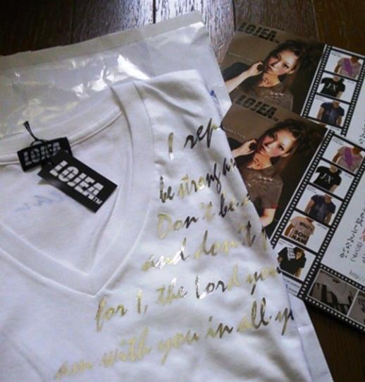 「LOJEA」 Tシャツのメッセージとは